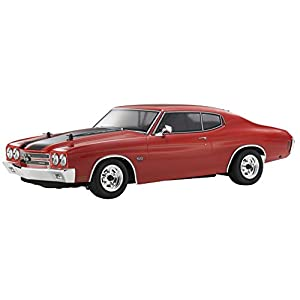 Kyosho Automobile 1970 Chevy Chevelle LS6 SS454 RC Car-Cranberry Red