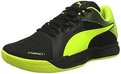 Puma 01 Chaussures Noir black Yellow Homme Football 3 Evoimpact safety De 2 PfwxnqP1Zr