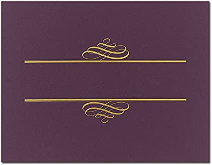 25 Covers Purple Value Certificate Covers