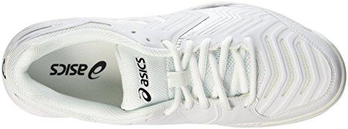 game Da Asics 6 Bianco Ginnastica white Scarpe Gel silver Uomo nZIAIp65