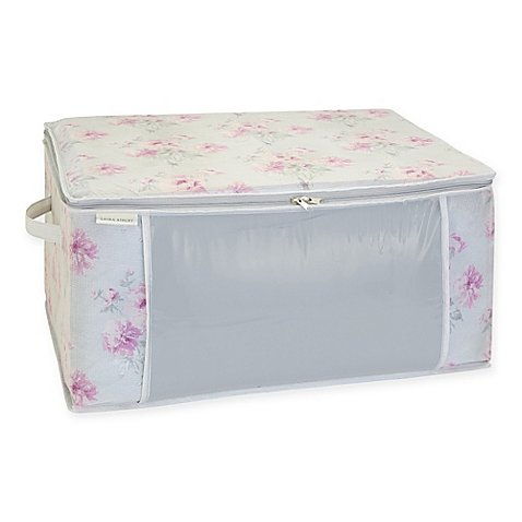Laura Ashley Beatrice Non-Woven Blanket Storage Bag - Easy Assembly