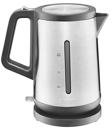 KRUPS BW442D Control Line Electric Kettle with Auto Shut Off and Stainless steel Housing, 1.7-Liter, ()