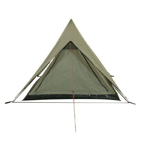 10T Poneto 2 - 2-Personen Trekking Doppeldach First-Zelt mit Schlafkabine 2700g leicht WS=5000mm