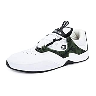 DC Kalis S Skate Shoes Mens Sz 8 White Camo