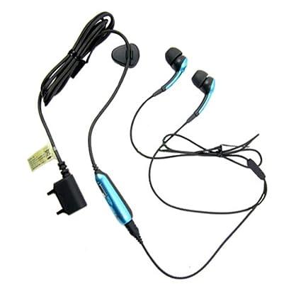 Sony Ericsson HPM 70 Stereo Portable Handsfree Headset In Denim Blue With Black For M600i P1i P990i R300 R306 SE S500i Z320i T250i T270i