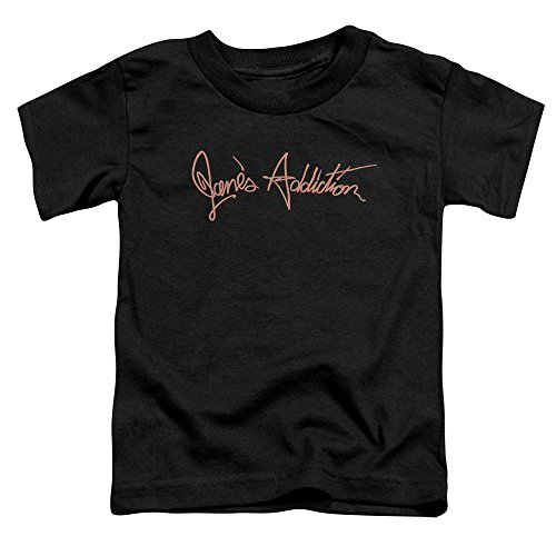 Jane's Addiction - Script Logo - Toddler T-Shirt - Toddler Large (4T)