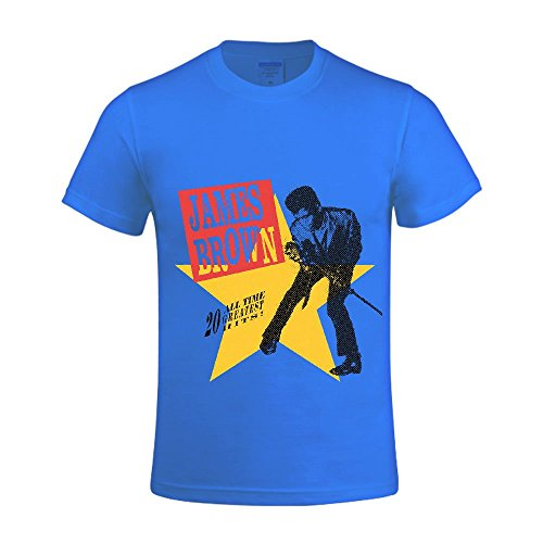 james-brown-20-all-time-greatest-hits-men-shirts-round-neck-tee-blue