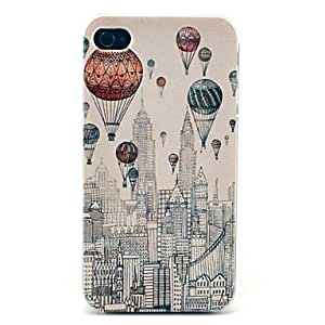 GOG- ships in 48 hours Balloon New York City Building Pattern Hard Case for iPhone 4/4S