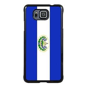 El Salvador Flag Black New Style Custom Samsung Galaxy Alpha Cover Case