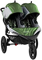 Baby Jogger Summit X3 Double Jogging Stroller - 2016   Air-Filled Rubber Tires   All-Wheel Suspension   Quick Fold...