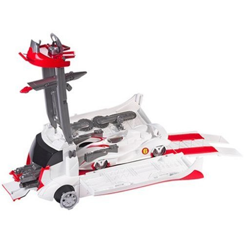 - HOT WHEELS Speed Racer Mach 6 and Battle Rig