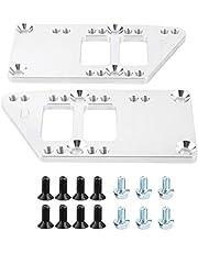 Swap Engine Mount, LS Aluminium Billet Engine Mounts Billet Aluminum Swap Kit Conversion Fit for Chevelle Camaro
