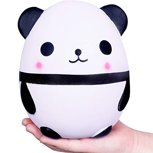 WeYingLe Squishy Jumbo Slow Rising Panda Cream Scented Kawaii Squishies Toys for Kids and Adults, Lovely Stress Relief Toy. Big Size Panda (6 inch Panda) -