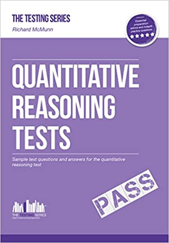 Book QUANTITATIVE Reasoning Tests - The ULTIMATE guide to passing quantitative reasoning tests: 1 Testing Series
