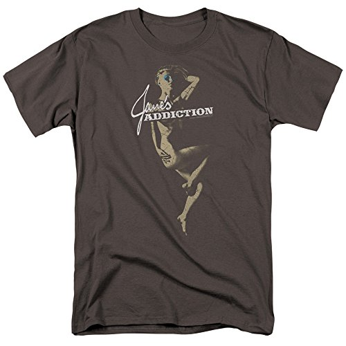 Jane's Addiction Inside Escape Men's Regular Fit T-Shirt 4XL Charcoal