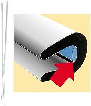 Autoscheich Türkantenschutz Transparent Türschutzleisten Türkantenschoner Selbstklebend Set 2x 65cm Für Auto Kfz Lkw Transporter Caravan Auto