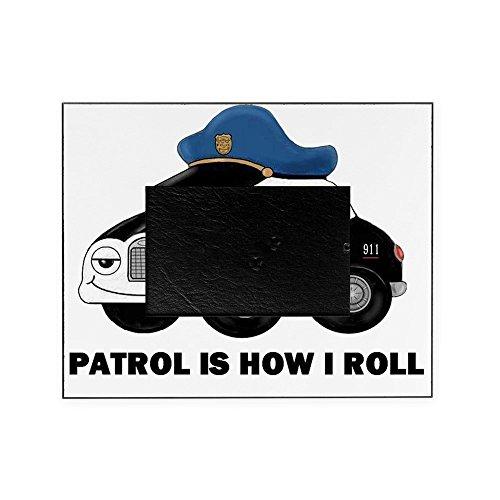 CafePress - Police CAR - Decorative 8x10 Picture Frame