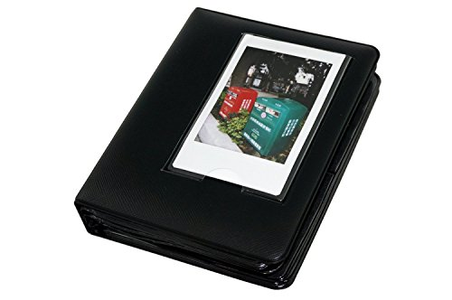 Macaron Colorful Frame Mini Polaroid Films Book Photo Album for Fujifilm Fuji Instax Instant mini 7s/8/9/25/50/90/70 Black