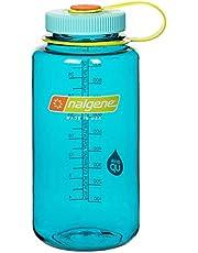 Nalgene 2178-2063 Wide Mouth Water Bottle, 1L, Cerulean