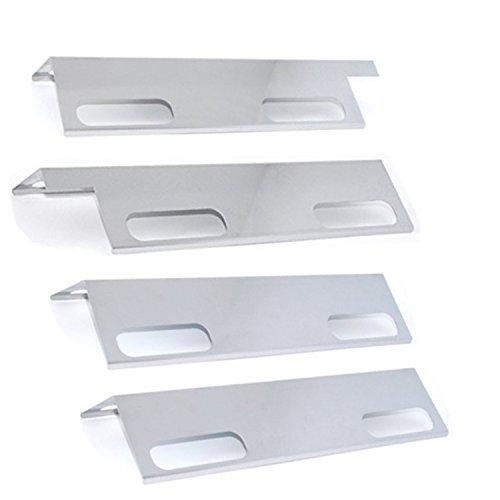 (BBQration 4 Pack Ducane Affinity Flavorizer Heat Shield Fits Ducane Affinity Series Models: 3073101, 3000, 3100, 3200, 3300, 3400, 4100, 4200, 4400(15 3/8 x 6))