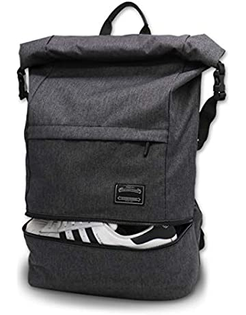 03e6ae3e5d Travel Laptop Backpack, ITSHINY Rucksack Anti-Theft Laptop Bag Roll Top  School Bag Water
