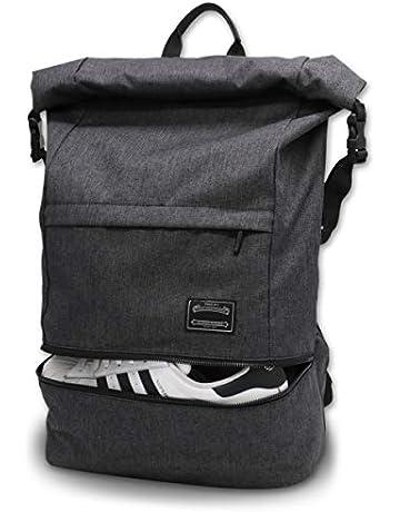 8150cc8ebc2 Travel Laptop Backpack, ITSHINY Rucksack Anti-Theft Laptop Bag Roll Top  School Bag Water