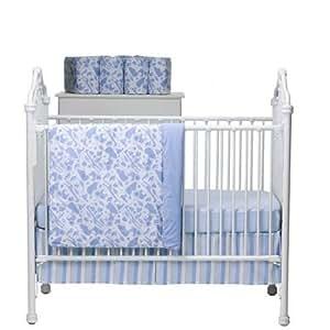 Amazon Com Amy Coe Designer Mod Safari 4pc Crib Bedding
