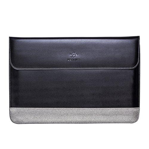 LENTION Split Leather Sleeve for MacBook Pro (Retina, 15-...
