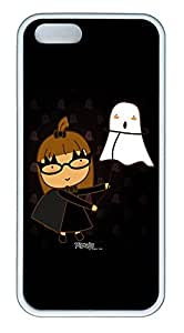 iPhone 5 5S Case Buffy The Action TPU Custom iPhone 5 5S Case Cover White