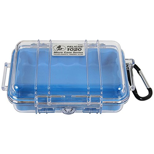 Pelican Micro Case 1020 Blue One Size by Pelican