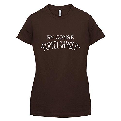 En congé fantasy doppelgänger - Femme T-Shirt - Maron Foncé - S