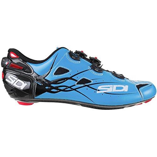 広告写真貢献する(シディ) Sidi Shot Vent Carbon Cycling Shoe メンズ ロードバイクシューズSky Blue/Black [並行輸入品]