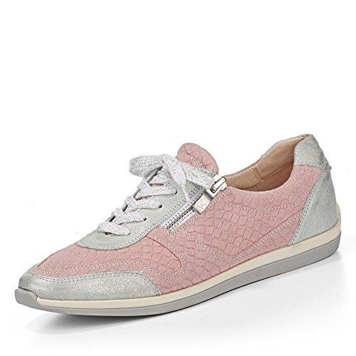 Chiaro 591 591 Caprice grigio Rosa Sneaker 9 Donna 23640 9 26 qwqvxaXRI