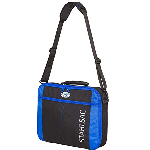 Stahlsac Molokini Regulator Computer Carry-On Bag, Black/Blue