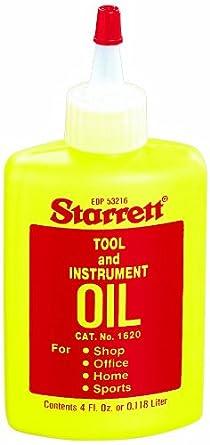 Starrett 1620 Tool and Instrument Oil, 4 fl.oz