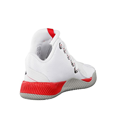 Adidas Energy Bounce Bb, Scarpe da Ginnastica Uomo, Bianco (Ftwbla/Reflec/Escarl), 46 EU