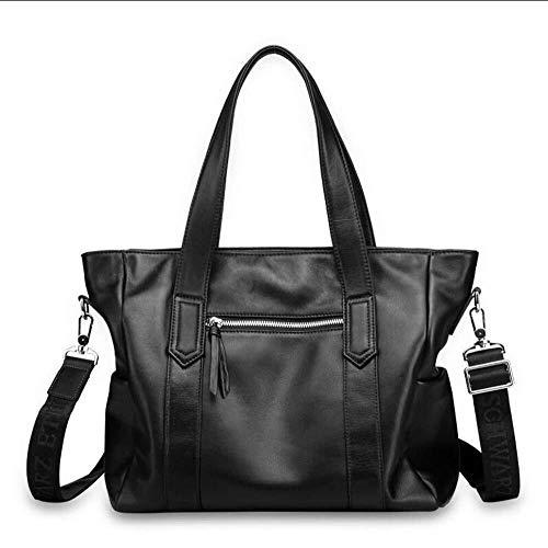 LXDDJsl Damhandväska herrhandväska, läderhandväska, mjuk läderväska för män mocka läderväska
