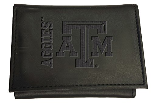 Team Sports America Leather Texas A&M Aggies Tri-fold Wallet