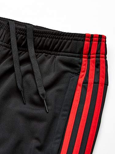 827de47f5a8d0 adidas Men's Athletics Essential Tricot 3-Stripe Pants, Active Black, Medium