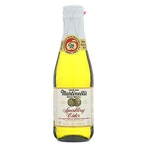 Martinelli's Sparkling Apple Cider, 8.4 fl. oz. (Pack of 12)