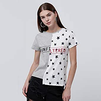 Lee cooper T-Shirts For Women, Multi Color S