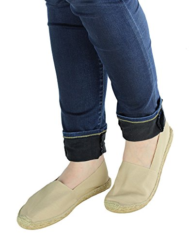 Cotheeka Natural Fiber Fiber Fiber Jute and Canvas Womens Espadrilles Flats B00KWJD4V6 Shoes ec903a
