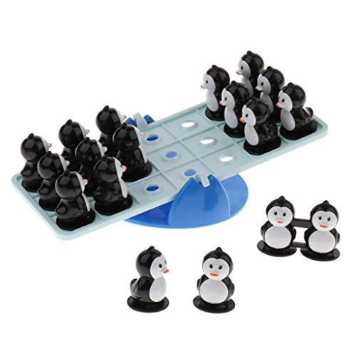 B Baosity キッズ インテリジェンス ボードゲーム ペンギン ティーターボードおもちゃ 教育プレイセット