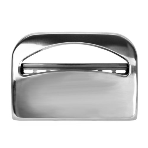 Chrome Half Fold Toilet Seat Cover Dispenser