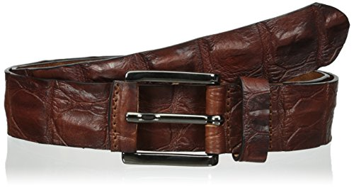 Crocodile Belt (Trafalgar Men's Strafford Belt, Brown,)