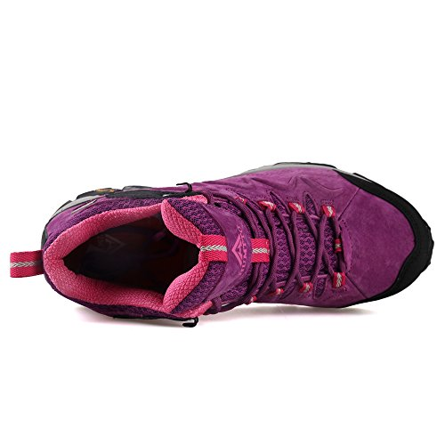 Outdoors Shoe Women Purple Hiking Shoes Trekking 6520 HUMTTO wBq6tCxx