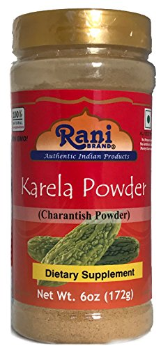 Rani Karela (Bitter Gourd) Powder 6oz (172g) by Rani Brand Authentic Indian Products
