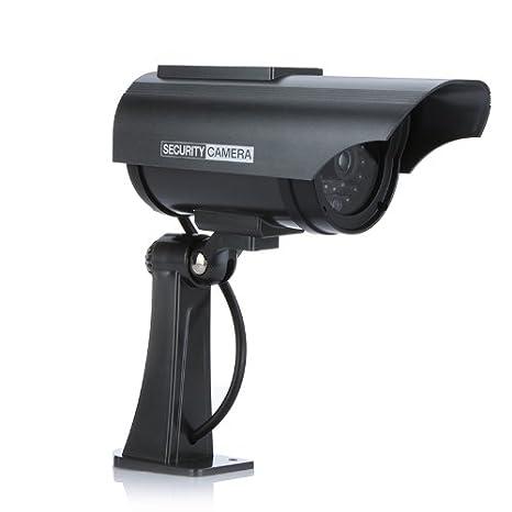Amazon.com : Fake camera Solar powered indoor outoodr Dummy security camera Bullet cctv camera surveillance camaras Fake de seguridad : Everything Else