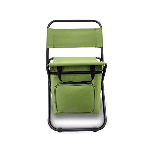 BeGrit Multi-Purpose Cooler Chair Folding Stool with Cooler Bag for Hiking Fishing Camping Picnic Backpacking by BeGrit (Image #2)