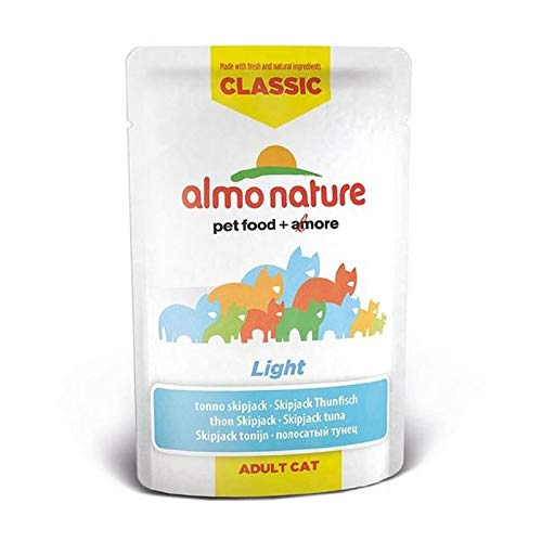 Almo Nature Cat Pouch HFC Light with Skip Jack Tuna 24 x 55g